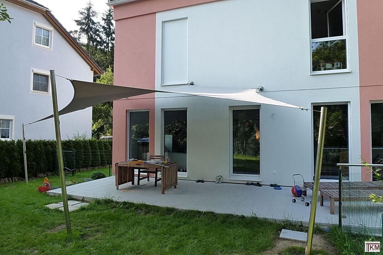 tkm sonnensegel sonnenschutz mit design tkm schauraum. Black Bedroom Furniture Sets. Home Design Ideas